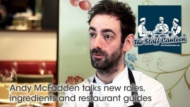 Michelin star chef Andy McFadden talks new roles, ingredients and restaurant guides