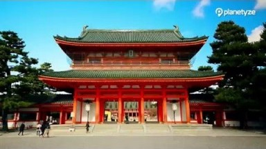Heian Shrine, Kyoto | One Minute Japan Travel Guide