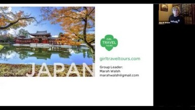 Virtual Tour of Japan with Mardi - Brought to you by Girl Travel Tours