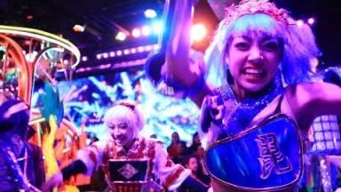 A Robot Show in Tokyo    Japan Travel Vlog