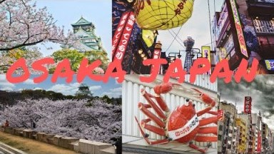 Japan Travel Vlog : 1 Day Itinerary in Osaka