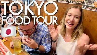 SHINJUKU FOOD TOUR & PUB CRAWL | Japan Travel Vlog