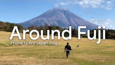 Around Fuji! | Japan Travel Vlog (Shot on iPhone 12 Pro)