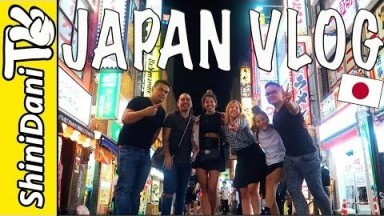 Japan Travel Vlog Day 1 - Tokyo, Shinjuku, Udon Ramen