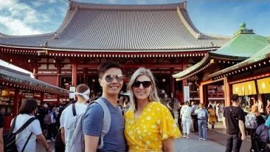 Asakusa, Ueno & Tokyo Metropolitan Government Building | Japan Travel Vlog