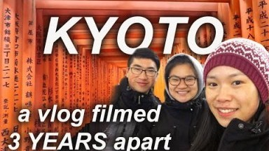 a KYOTO Japan TRAVEL VLOG: filmed 3 YEARS apart | Favourite Spots to Visit in Kyoto