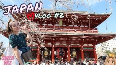 First time in Japan! Travel Vlog (Pt 2)