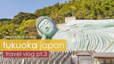 Nanzoin Temple, Canal City Hakata, Don Quijote Shopping | Fukuoka Japan Travel Vlog (Part 3)