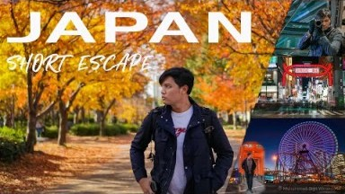 Travel Vlog Japan 2019 || Japan Trip Tokyo, Osaka, Kyoto, Yokohama || Sam Kolder Inspired