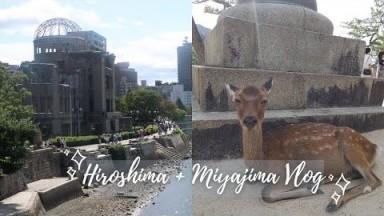 |Travel Vlog| Hiroshima, Japan: Hiroshima Peace park, Hiroshima-style Okonomiyaki & Miyajima Island