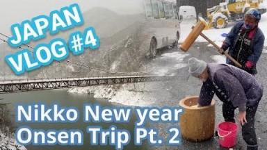 New year Nikko onsen trip! P2/2 [Japan VLOG #004]