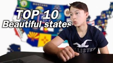 Japanese Reacts to Top 10 MOST BEAUTIFUL STATE in America