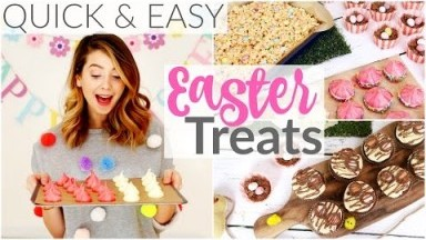 6 Quick & Easy Easter Treats   Zoella
