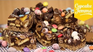 Easter Egg Chocolate Fridge Cake - the best way to use up your Easter Eggs! -  | Cupcake Jemma
