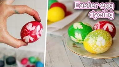 How To Dye Easter Eggs with Food Coloring | Creative Way Easter Egg Dyeing | Easter 2021