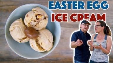 Cadbury Easter Cream Egg Ice Cream Recipe
