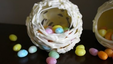 Easy Chocolate Easter Eggs - 5 Minute Recipe