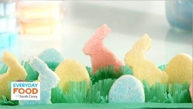 Homemade Easter Marshmallow Peeps - Everyday Food with Sarah Carey