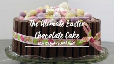 Easter Chocolate Cake Recipe | Baking Mad