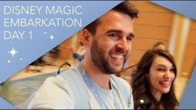 Disney Magic Embarkation | Day 1 | Disney Cruise Line Vlog | September 2019 | Adam Hattan
