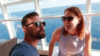 Disney Cruise Week! | Day 2, Exploring The Ship & Our Dinner At Palo!
