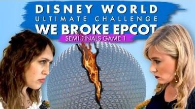 WE BROKE EPCOT: Disney World Tournament Semi Finals Game 1