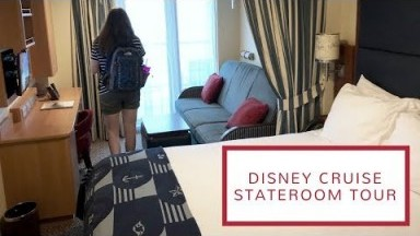 Disney Cruise Stateroom Tour   Deluxe Oceanview Stateroom with Verandah
