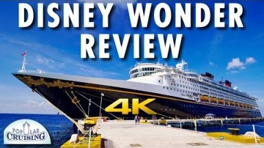 Disney Wonder Tour & Disney Wonder Review ~ Disney Cruise Line ~ Cruise Ship Review [4K Ultra HD]