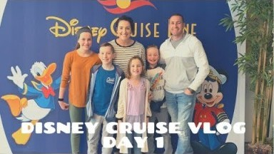 OUR FIRST DISNEY CRUISE||DISNEY WONDER||DAYS 1-3||TRAVEL VLOG