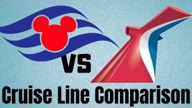Disney Cruise Line vs Carnival - Cruise Line Comparison