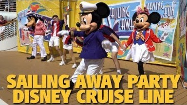 Sailing Away Deck Party   Disney Cruise Line