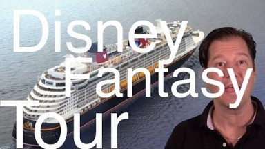 Disney Fantasy Review - Full Cruise Ship Tour  - Disney Cruise Line