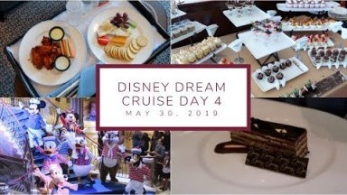 Amazing Palo Brunch + Day at Sea   Disney Cruise Day 4   May 30, 2019