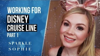 Working For Disney Cruise Line (Part 1) | Disney Performer | Disney Fantasy | Disney Dream