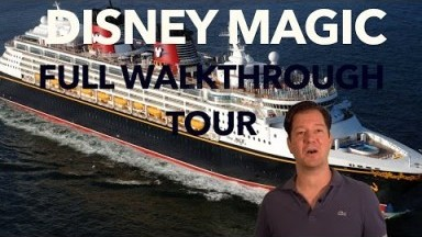 Disney Magic Review - Full Walkthrough - Cruise Ship Tour - Disney Cruise Line