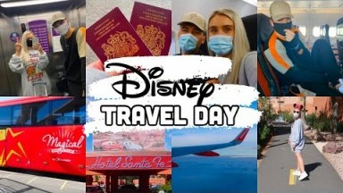 TRAVEL DAY | Disneyland Paris Vlog |  September 2020 | HeyIt'sTom&El