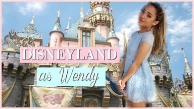 VLOG: MY TRIP TO DISNEYLAND + i dressed like Wendy from Peter Pan! | fancy vlogs