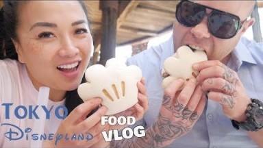 TOKYO DISNEYLAND *MINI FOOD VLOG (LETS EAT) | SASVlogs