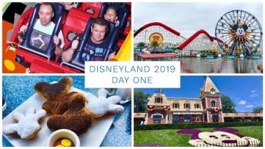 Disneyland California Vlog - May 2019 - Day 1 - Disney California Adventure & Disneyland