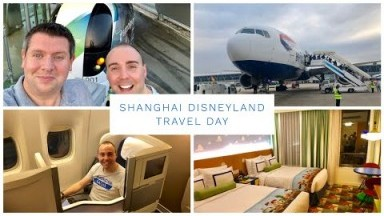 Shanghai Disneyland Vlog - April 2019 - Travel Day, Toy Story Hotel & Disneytown