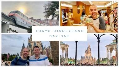 Tokyo Disneyland Vlog - May 2018 - Day 1 - Hilton, Shopping & Tokyo Disneyland Park