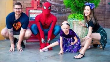 We Found Spider-Man In His Brand New Suit! | Disneyland Vlog