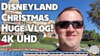Christmas at Disneyland Park - HUGE VLOG!! Decorations, Rides, & More - Disneyland Vlog 2019
