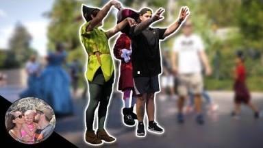 PETER PAN EMBARRASSES DAD IN FRONT OF A HUGE CROWD!! | DISNEYLAND VLOG #126