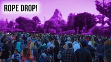 Disneyland Rope Drop on a Saturday Morning | Disneyland Vlog 2019