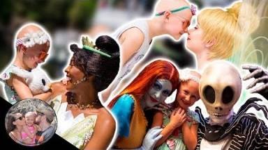 TIANA, TINK, + SCARING JACK & SALLY!! | DISNEYLAND VLOG #127