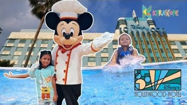 The Hong Kong Hollywood Disneyland Hotel hong kong disneyland vlog with  mickeymouse