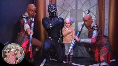 SUPER EMOTIONAL Black Panther Meet & Greet!! | Disneyland Vlog