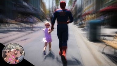 WHERE IS SPIDER-MAN TAKING HER!? | DISNEYLAND VLOG #115