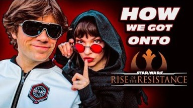 Rise of the Resistance OPENING DAY Disneyland VLOG | Star Wars: Galaxy's Edge